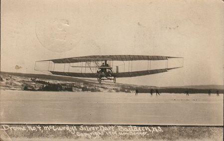 Original 1909 Silver Dart