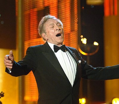 Al Martino performing in 2007