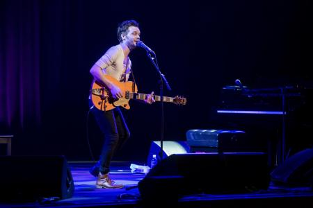 The Tallest Man On Earth. Photo from Sydney Opera House.